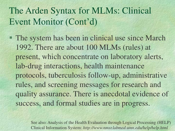 clinical decision support system case study Although clinical decision support is a key patient safety strategy, it may also have unintended consequencesinvestigators analyzed clinical decision support system malfunctions and surveyed chief medical informatics officers about such incidents.