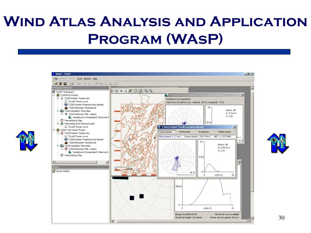 Wind Atlas Analysis and Application Program (WAsP)
