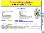 prestazioni specialistiche alta diagnostica