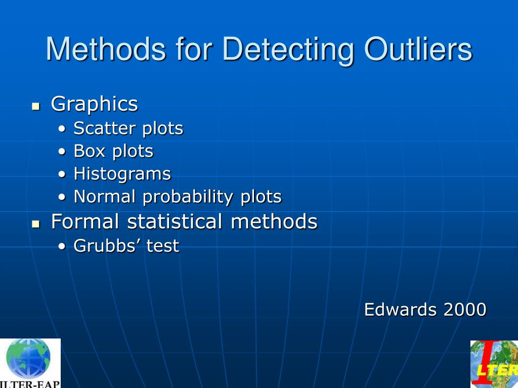 Methods for Detecting Outliers
