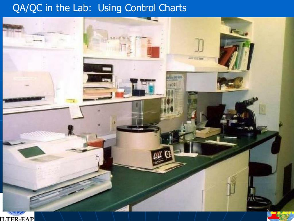 QA/QC in the Lab:  Using Control Charts