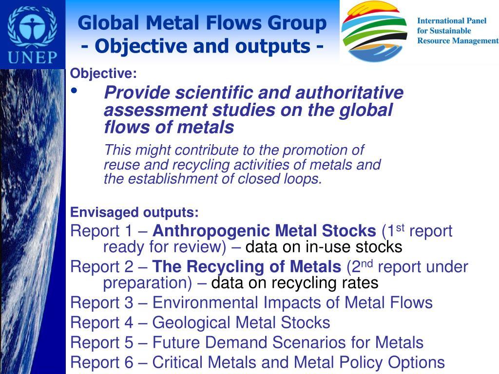 Global Metal Flows Group
