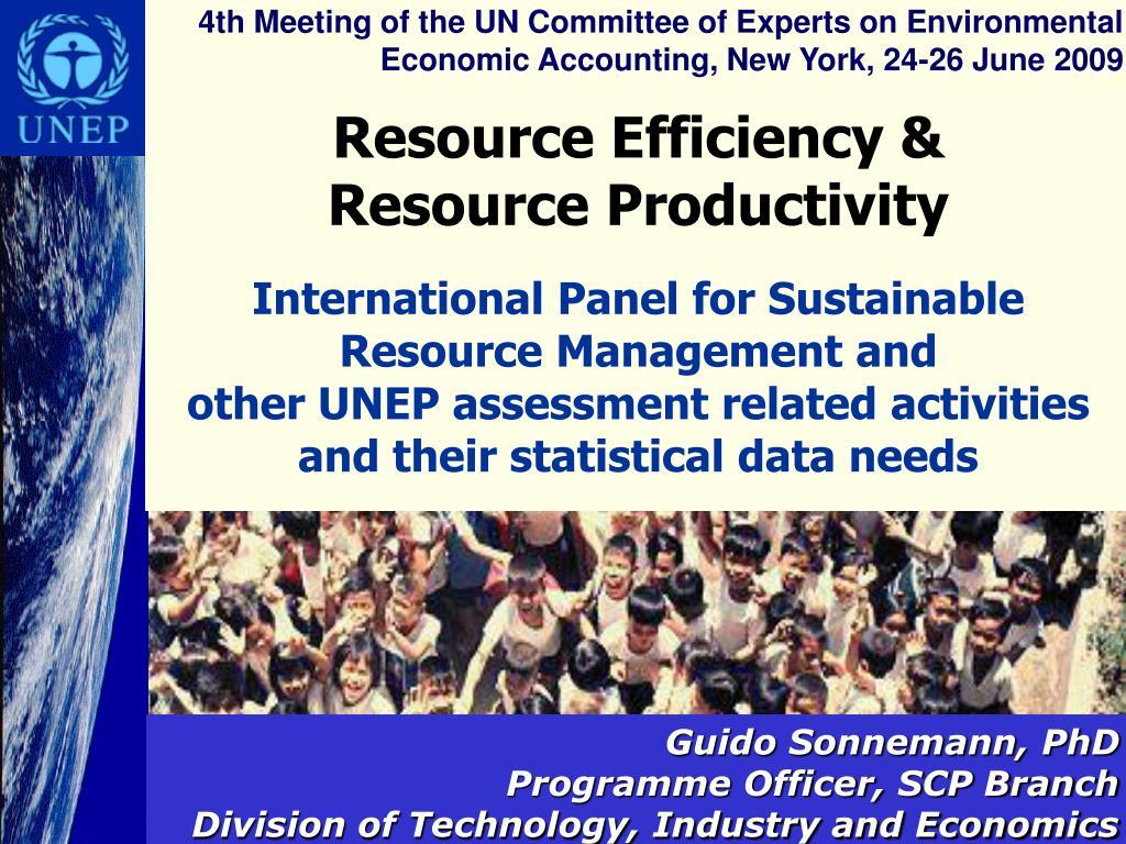 4th Meeting of the UN Committee of Experts on Environmental Economic Accounting, New York, 24-26 June 2009
