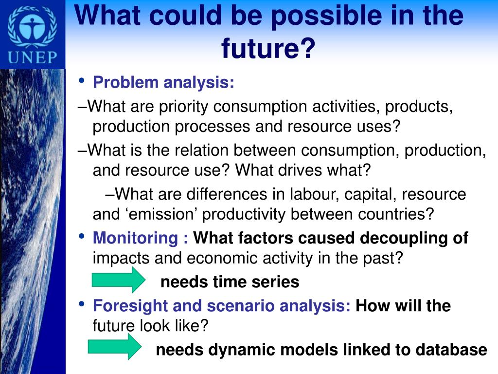 What could be possible in the future?