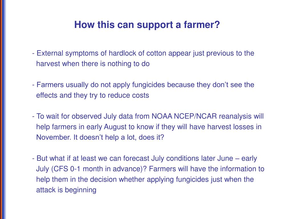 How this can support a farmer?