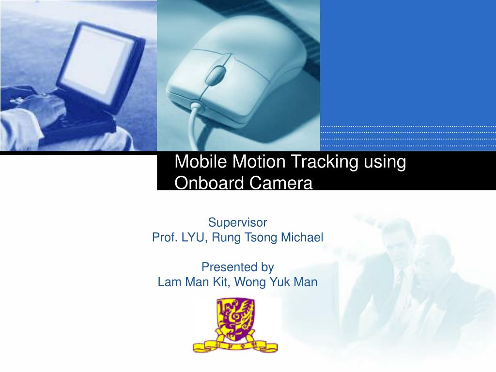mobile motion tracking using onboard camera l.