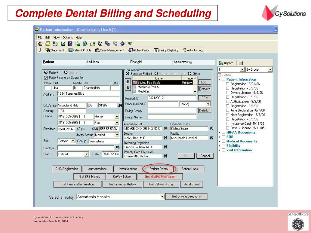 Complete Dental Billing and Scheduling