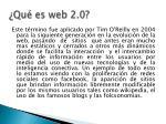 qu es web 2 0