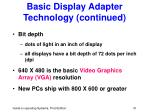 basic display adapter technology continued51