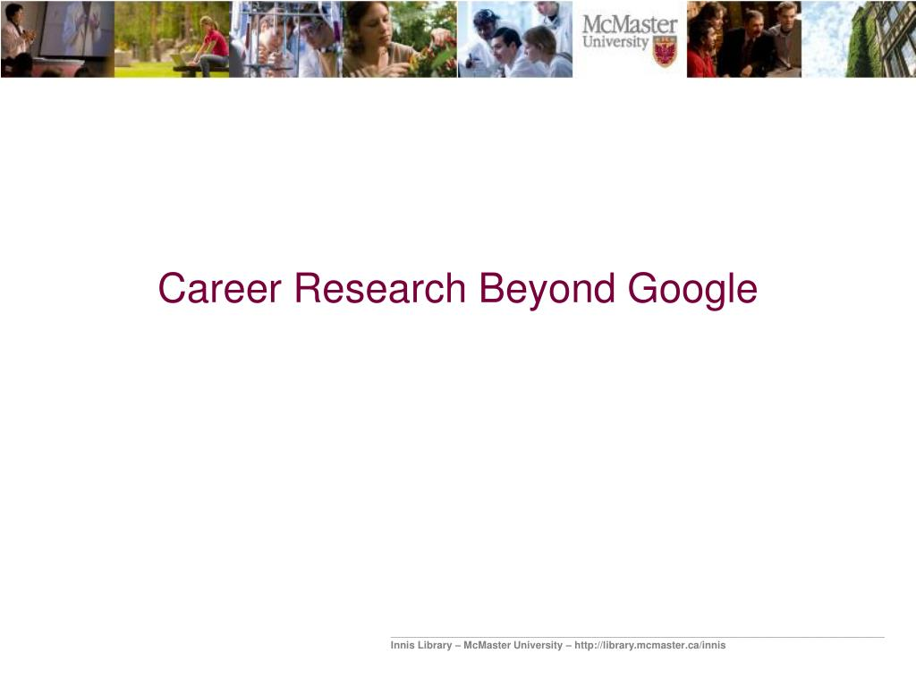 career research beyond google l.