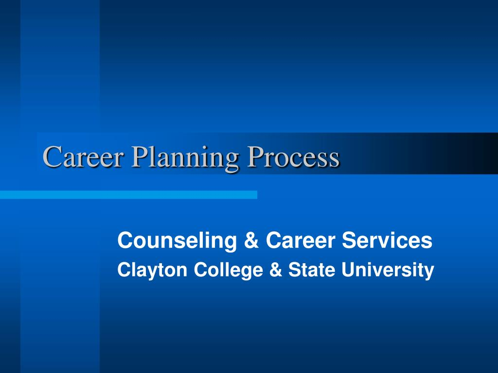 career planning process l.