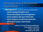 job connections professional organizations21