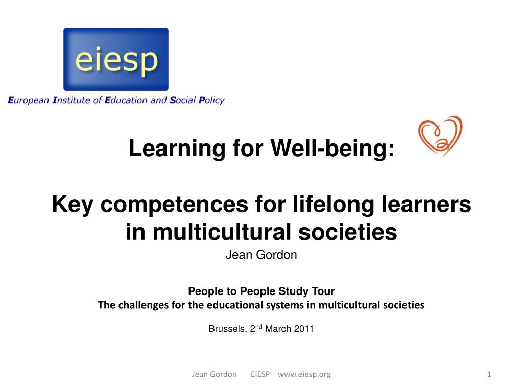 Learning for Well-being: