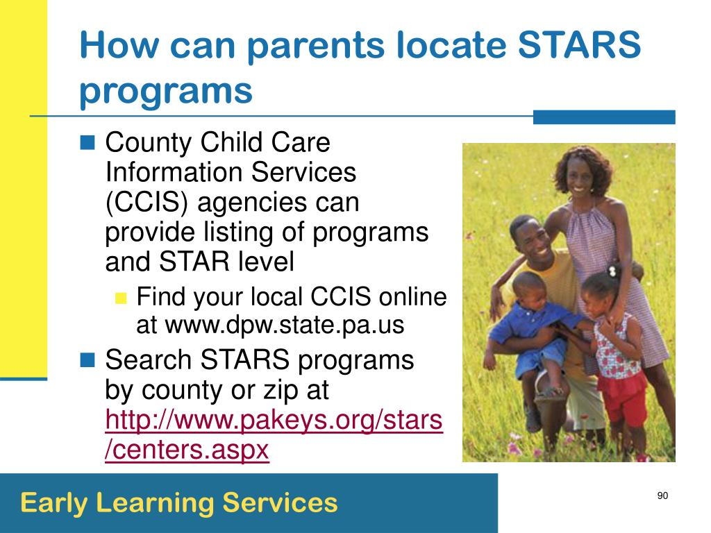 How can parents locate STARS programs