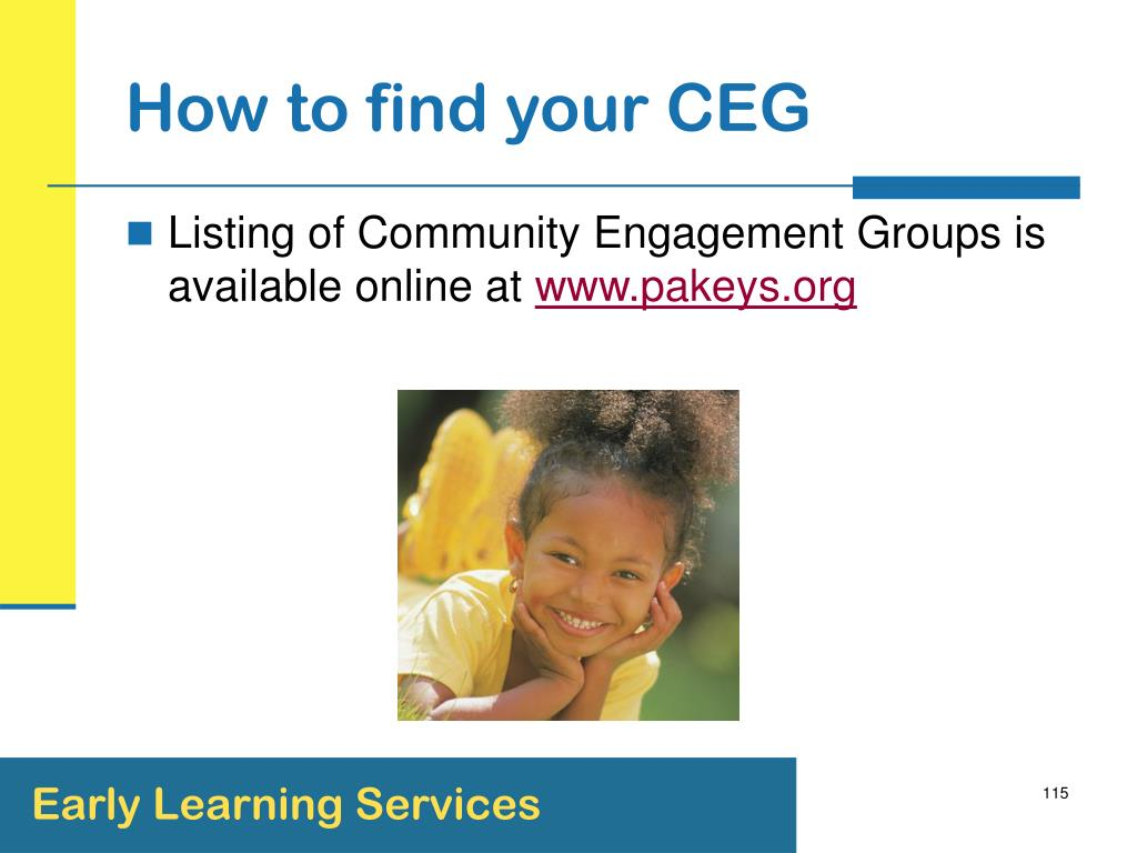 How to find your CEG