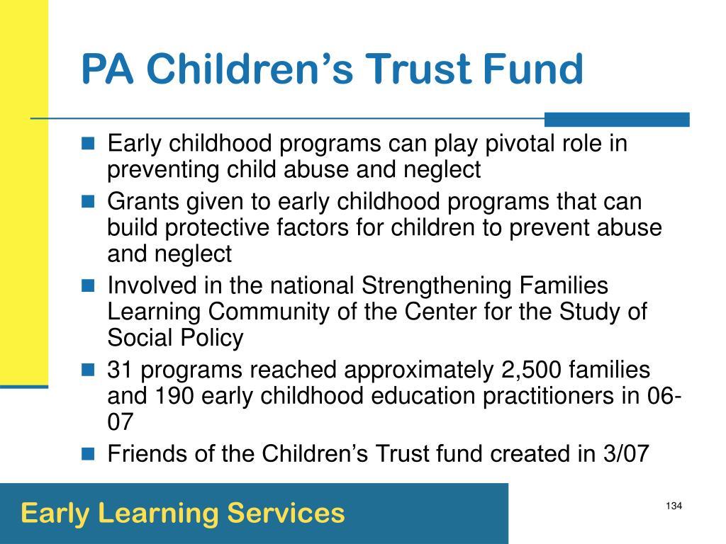PA Children's Trust Fund