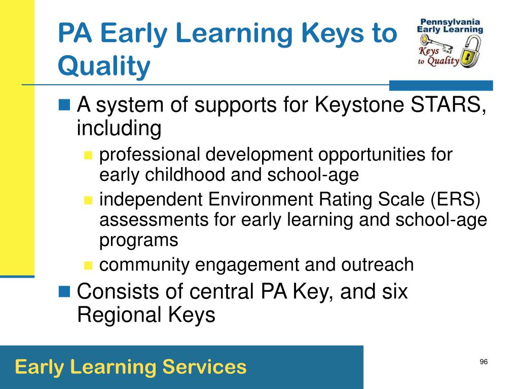 PA Early Learning Keys to Quality