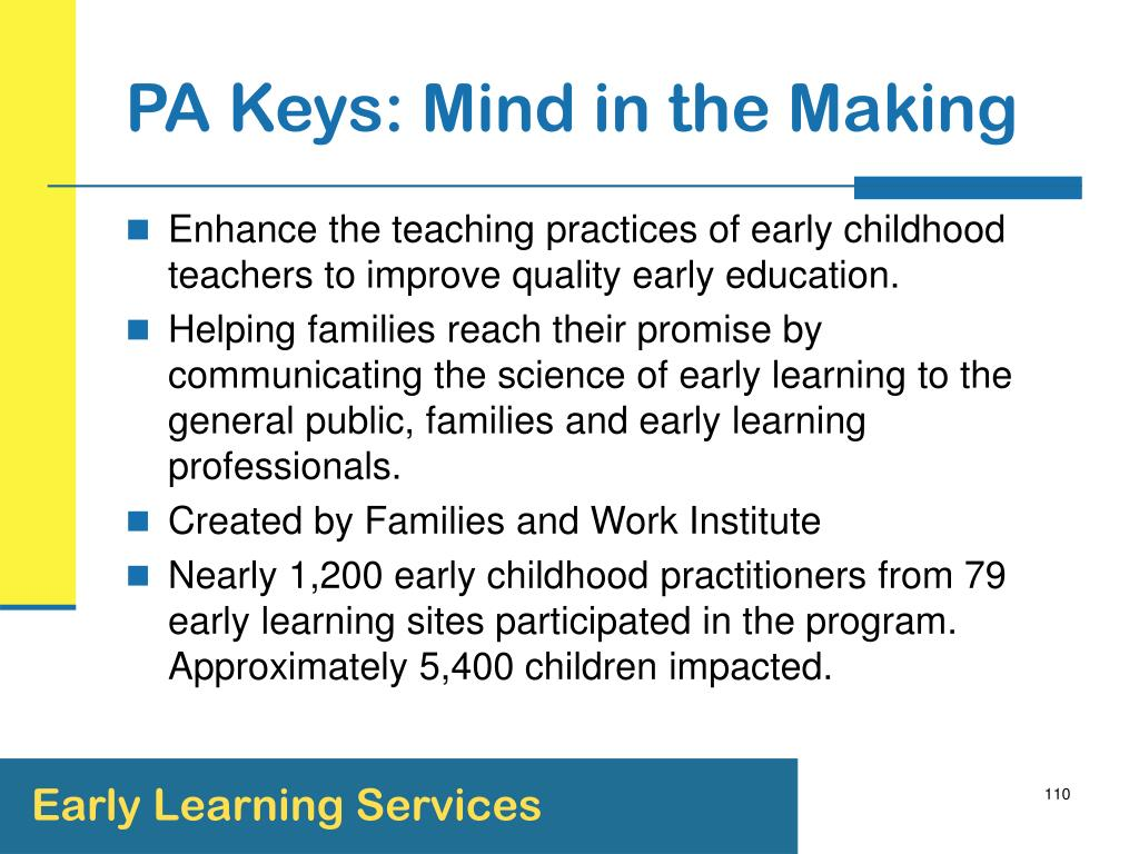 PA Keys: Mind in the Making