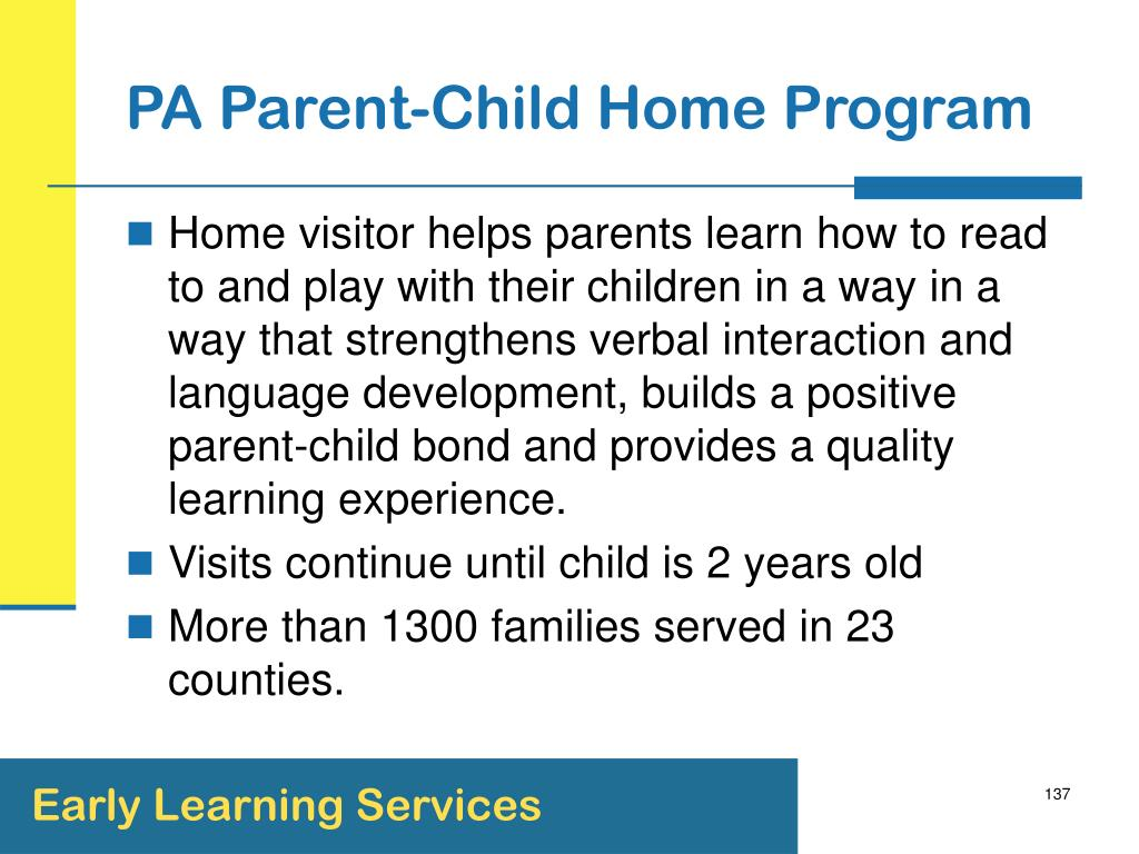 PA Parent-Child Home Program