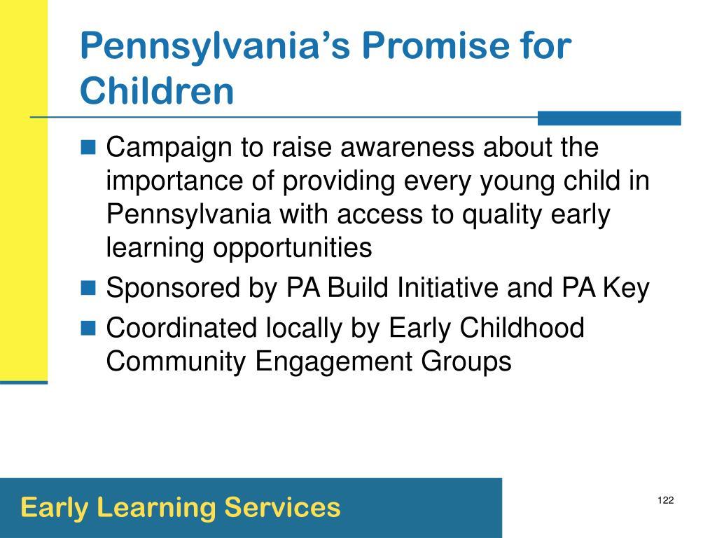 Pennsylvania's Promise for Children