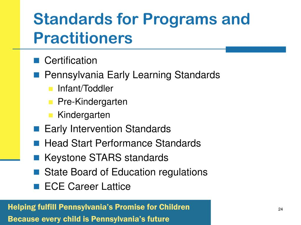 Standards for Programs and Practitioners