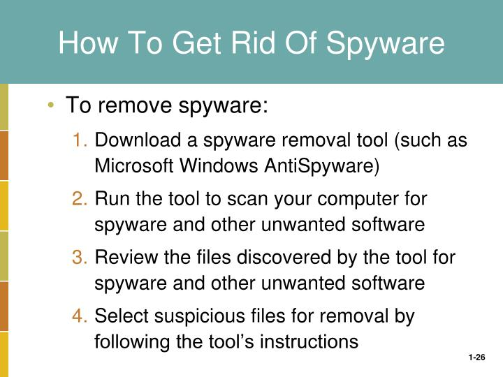 How To Get Rid Of Spyware