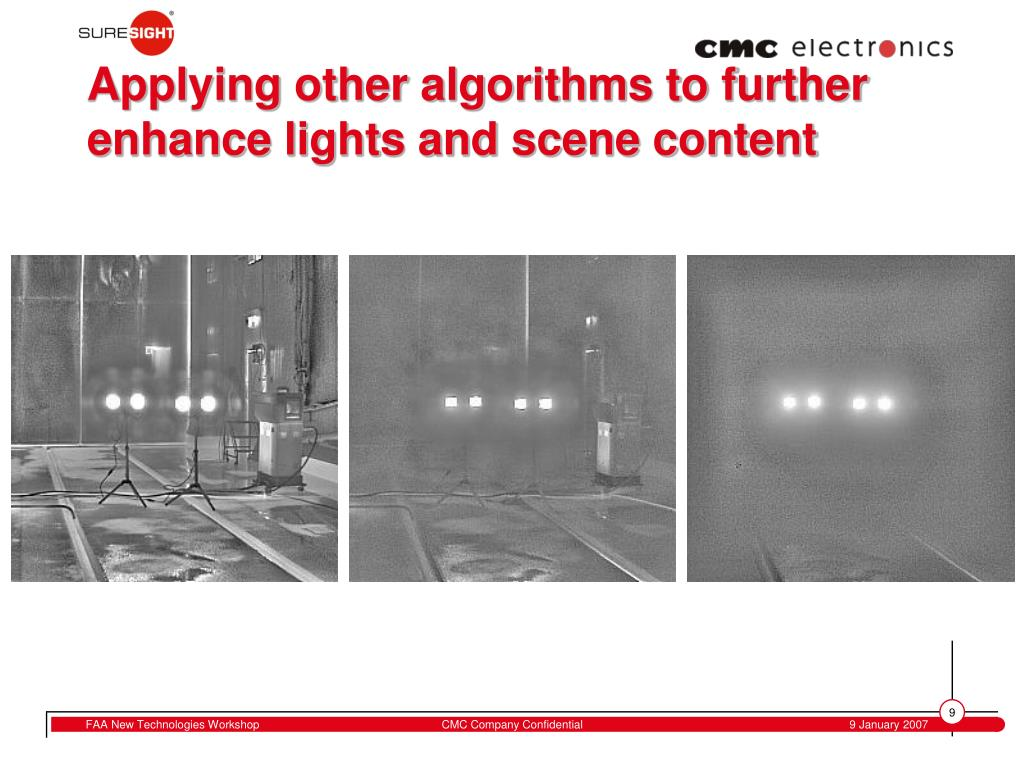 Applying other algorithms to further enhance lights and scene content