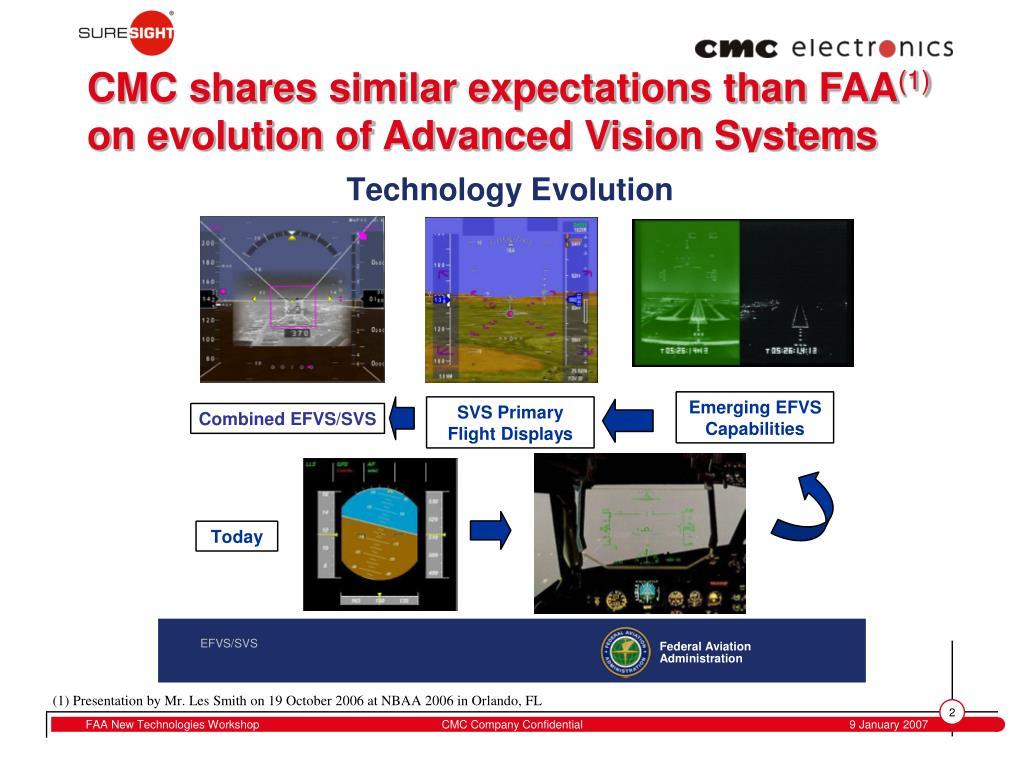 CMC shares similar expectations than FAA