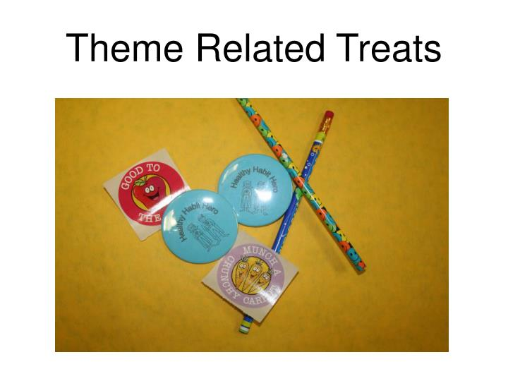 Theme Related Treats