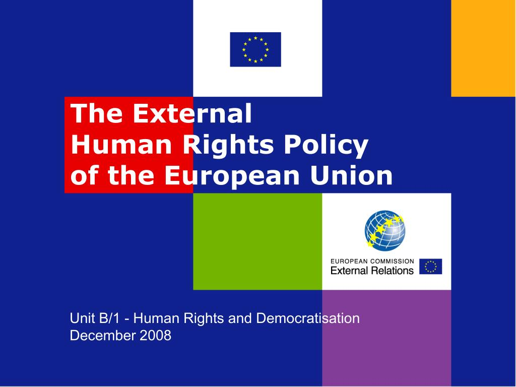 unit b 1 human rights and democratisation december 2008 l.