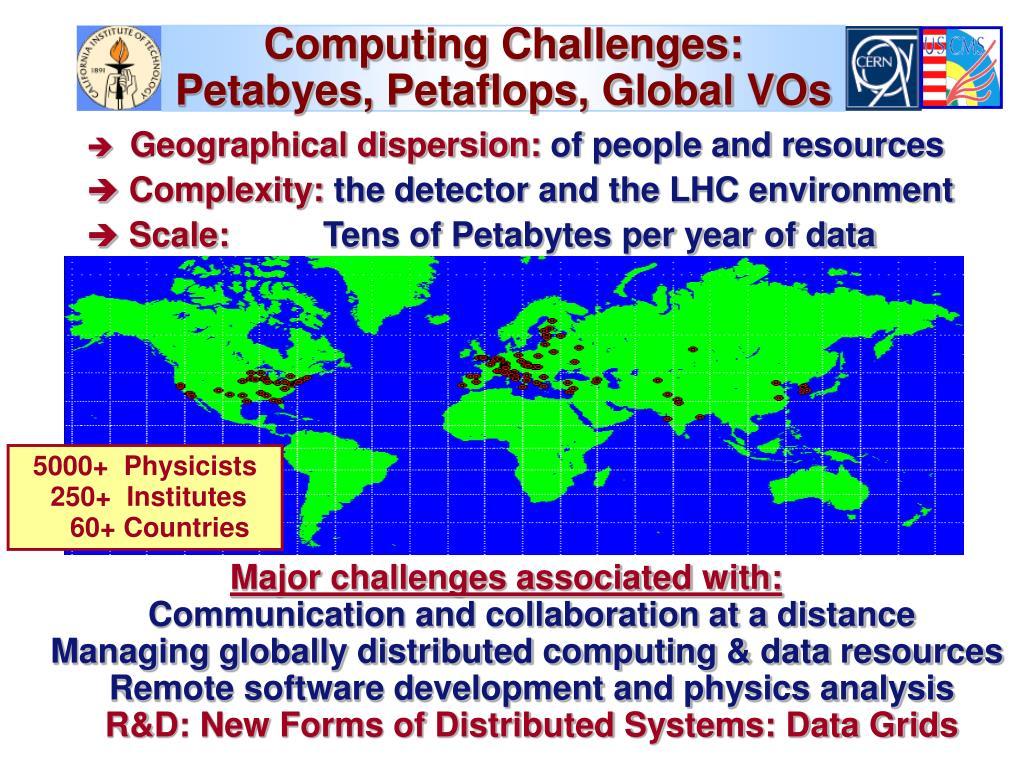 Computing Challenges:
