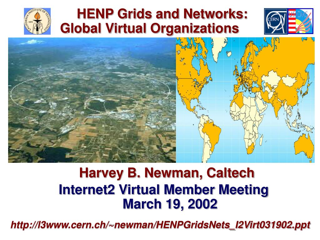 HENP Grids and Networks: