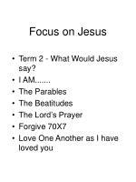 focus on jesus3