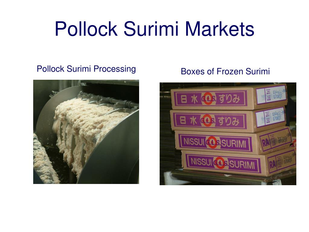 Pollock Surimi Markets