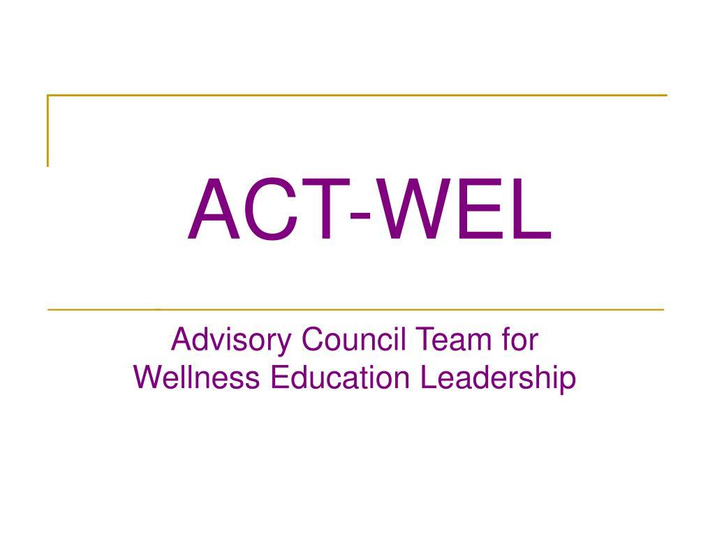 ACT-WEL
