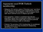 arguments used for turkish membership42