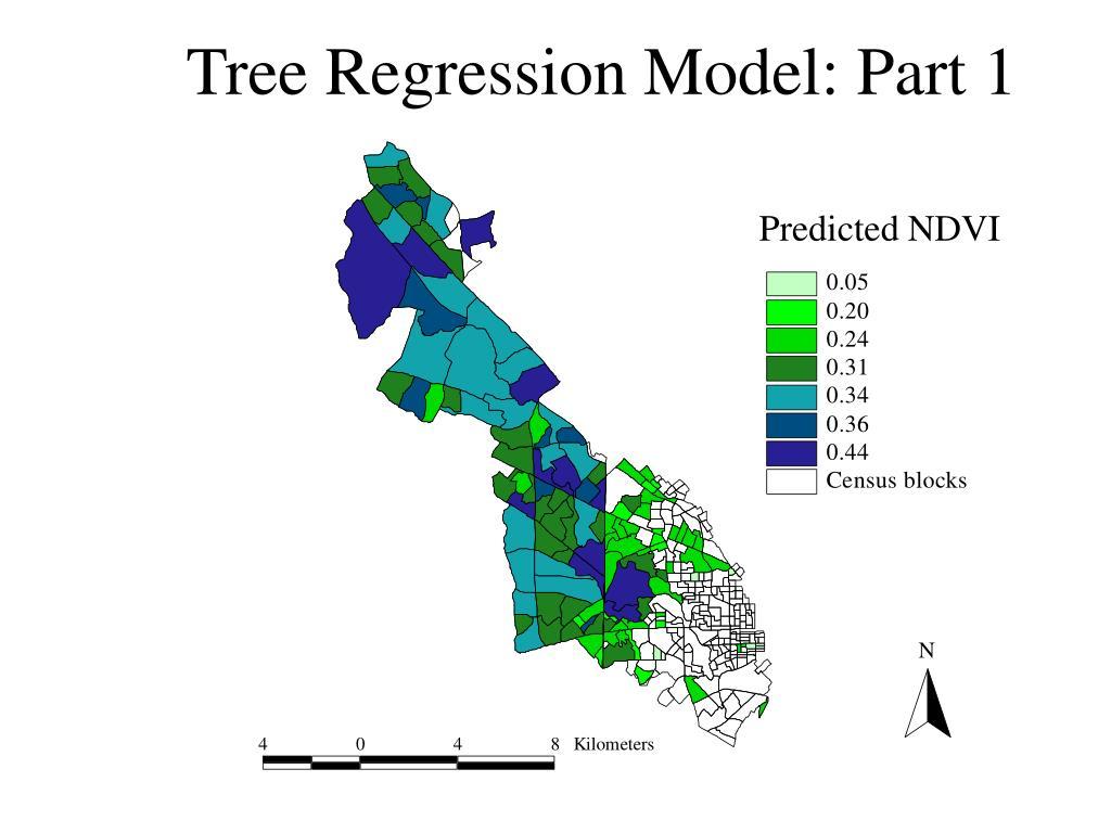 Tree Regression Model: Part 1