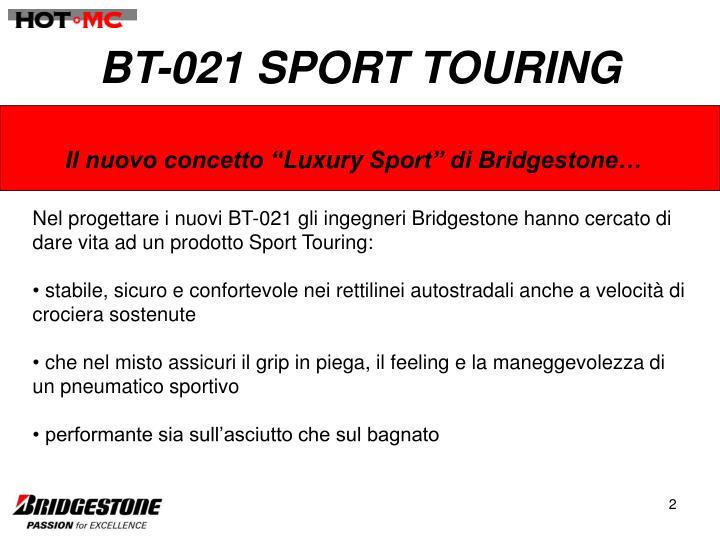 Bt 021 sport touring
