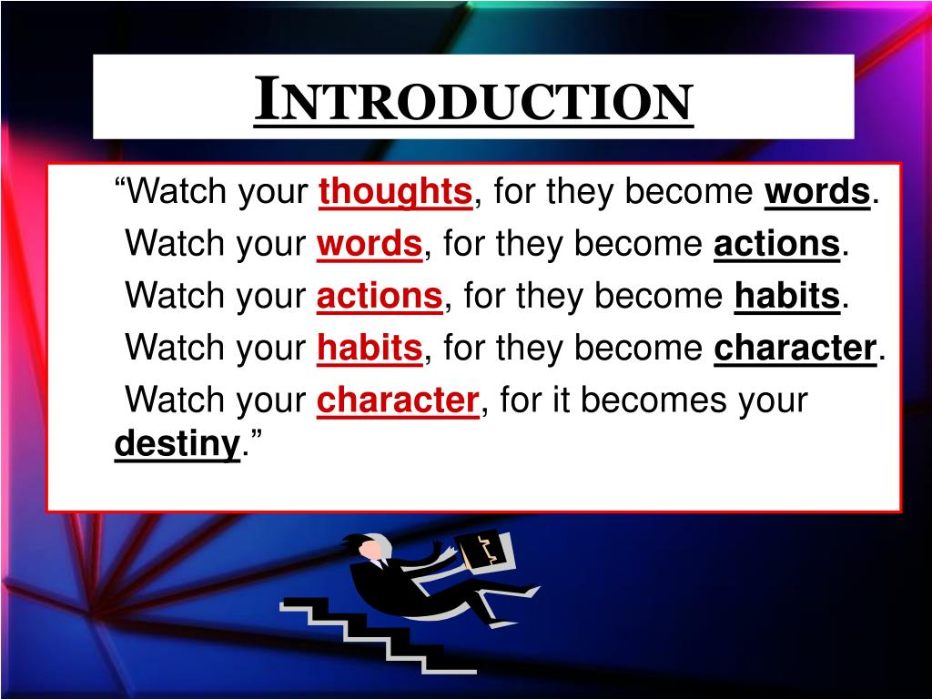 PPT - The Problem of Overcoming Sinful Habits PowerPoint