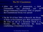 the eu constitution