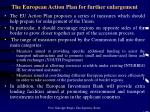 the european action plan for further enlargement