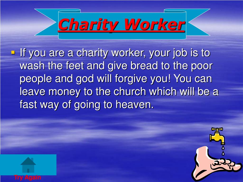 Charity Worker
