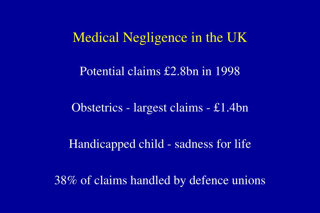 Medical Negligence in the UK
