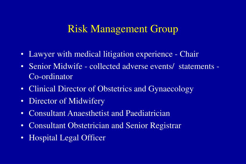 Risk Management Group