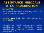 assistance medicale a la procreation37