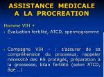 assistance medicale a la procreation38