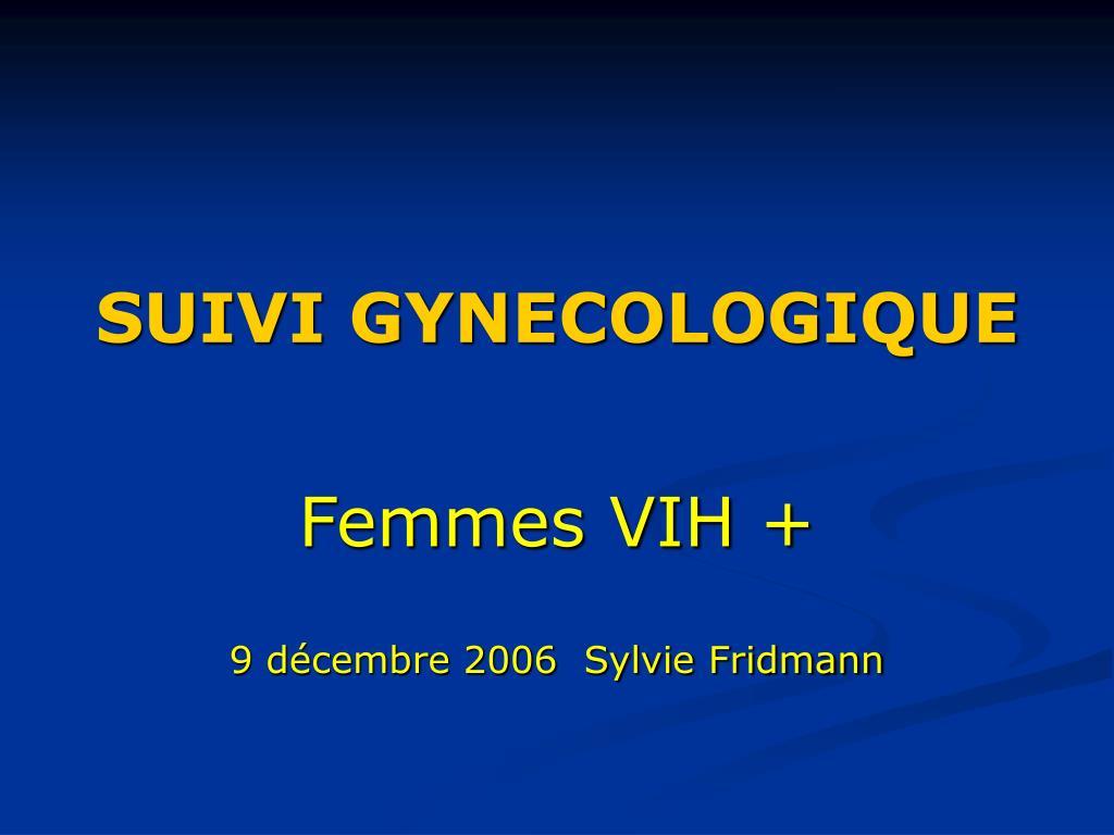 suivi gynecologique