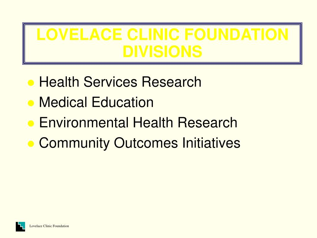 LOVELACE CLINIC FOUNDATION