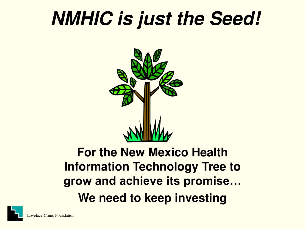 NMHIC is just the Seed!