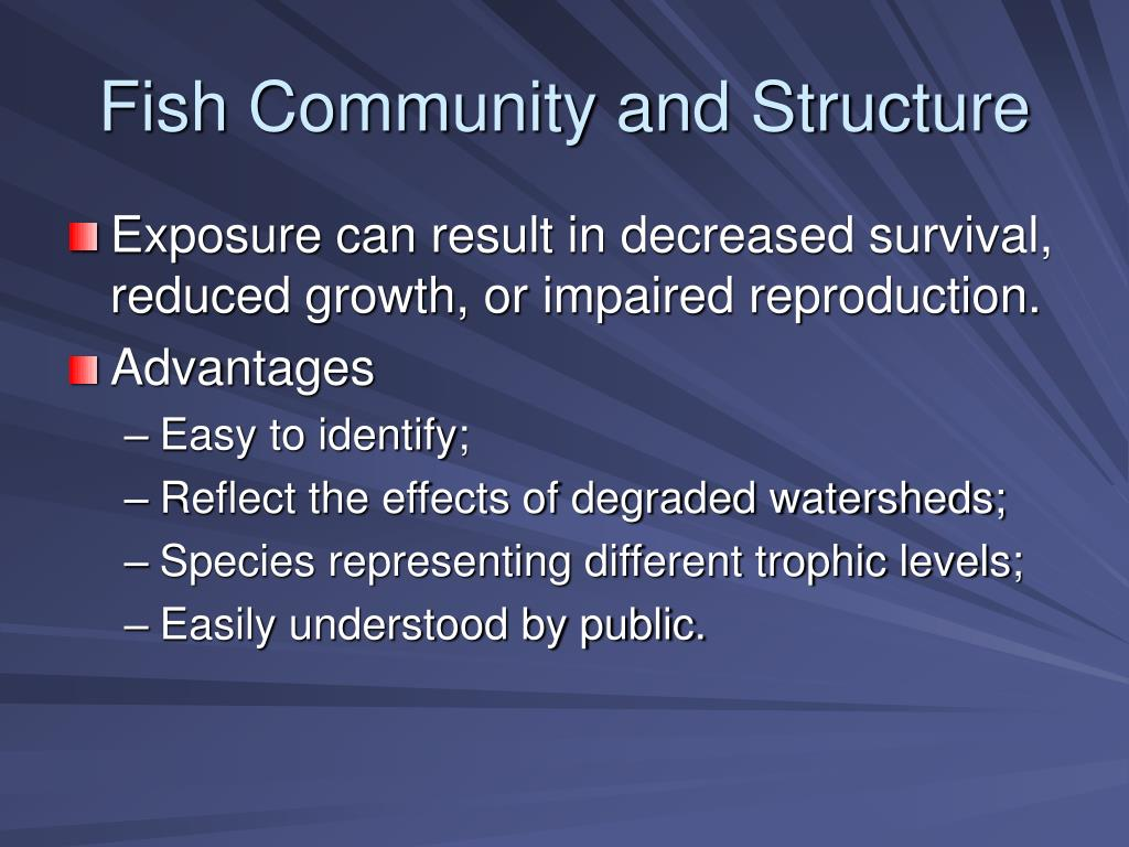 Fish Community and Structure